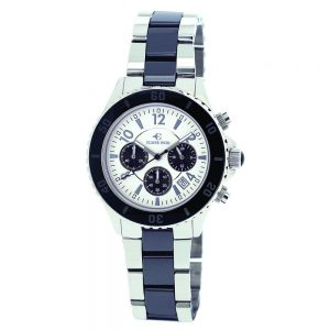 Elmer Ingo Semi Ceramics Chronograph XS BW White & Black (Ladies)