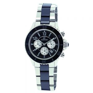 Elmer Ingo Semi Ceramics Chronograph Black White (Ladies)