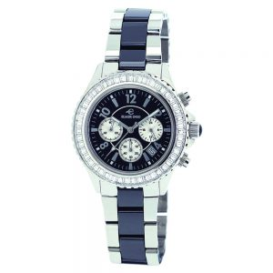 Elmer Ingo Semi Ceramics Chronograph XS W Black (Ladies)